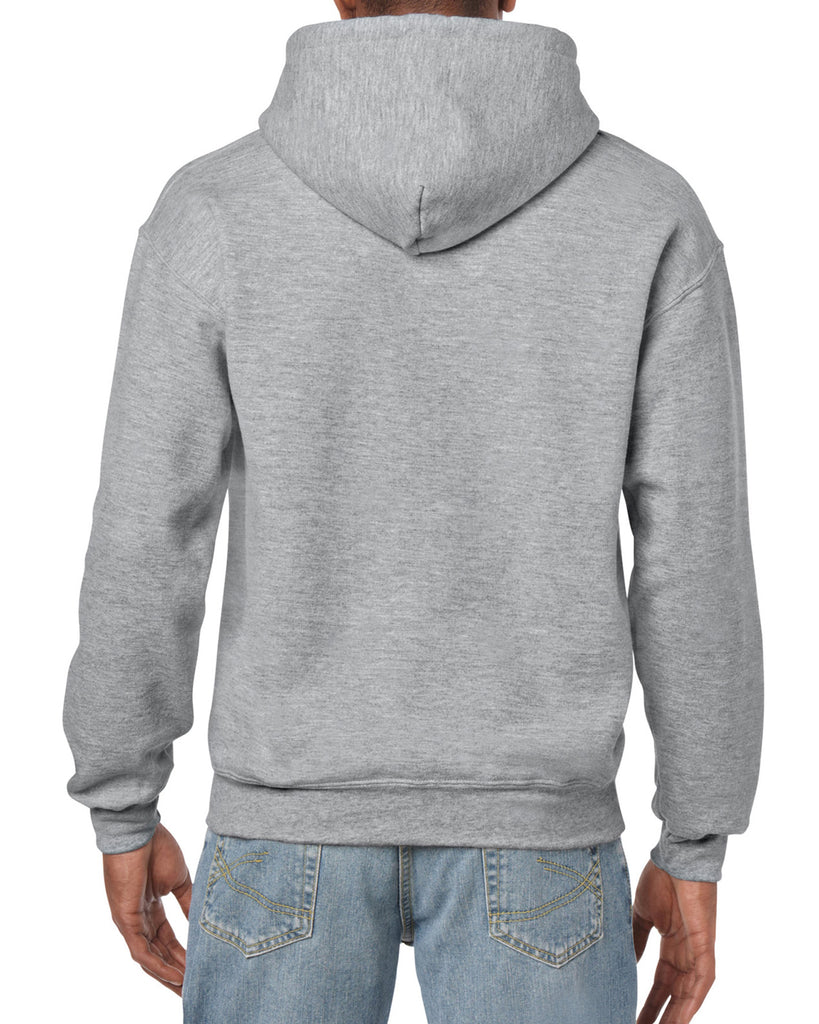 Gildan  Blank/Plain Hooded Sweatshirt , Sizes S,M,L,XL,2XL,3XL,4XL,5XL - THE M.F OLDSCHOOL STORE