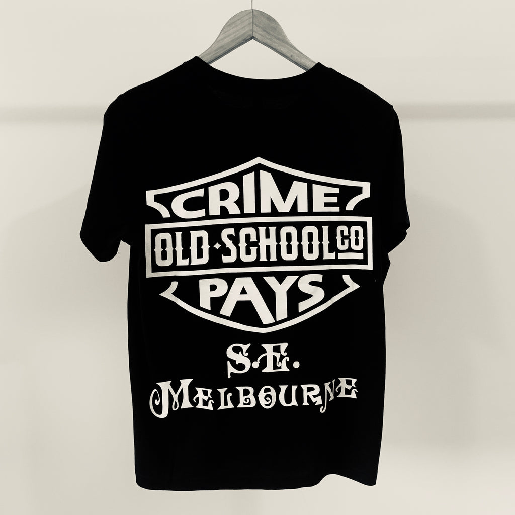S.E CRIME PAYS ,  Side Hustle  Womens Tee - THE M.F OLDSCHOOL STORE