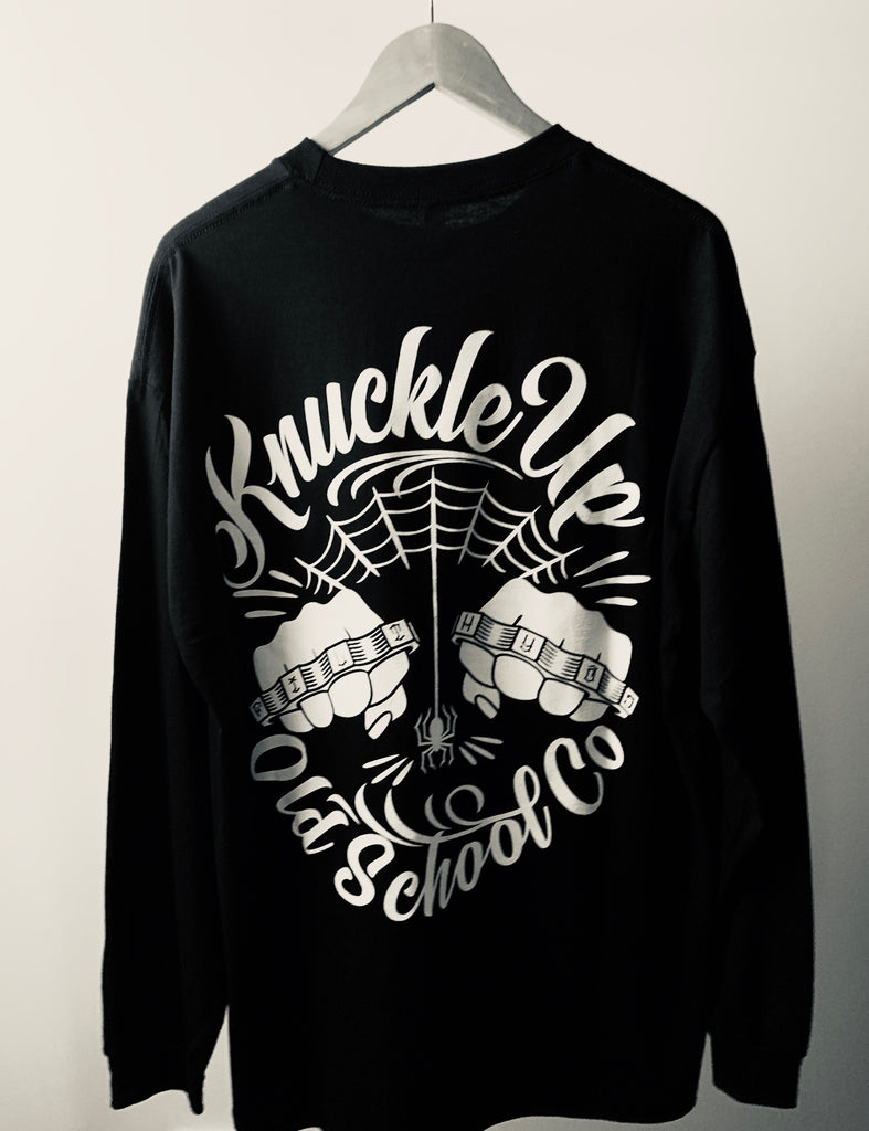 KNUCKLE UP baby Tee Shirt /  Long Sleeve - THE M.F OLDSCHOOL STORE