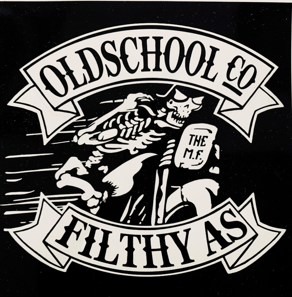 Stick it on SHIT Stickers - THE M.F OLDSCHOOL STORE