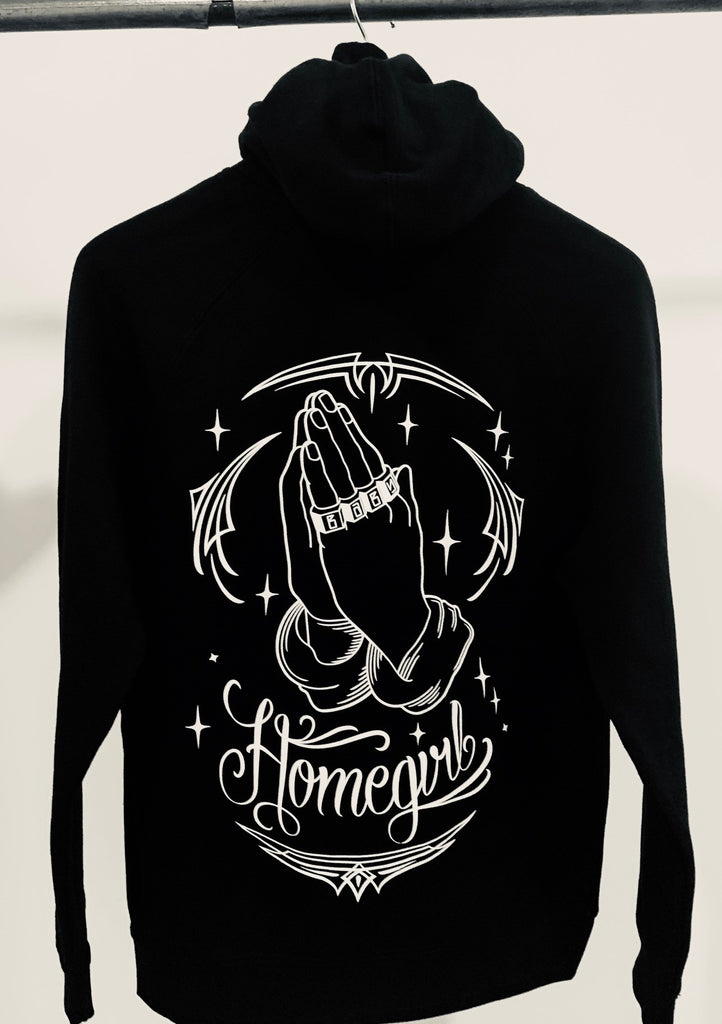 HOMEGIRL BABY FROM THE FASTSIDE HOODED SWEATSHIRT - THE M.F OLDSCHOOL STORE