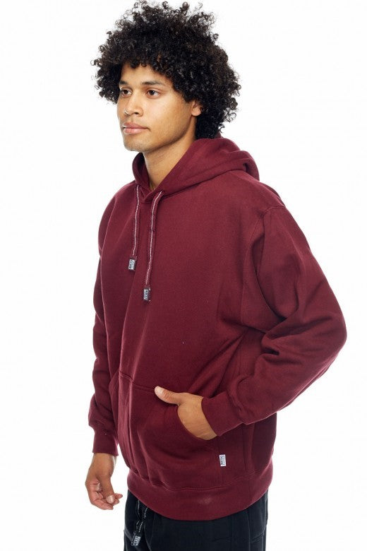 Pro- Club Heavyweight Hood, Talls Maroon - THE M.F OLDSCHOOL STORE