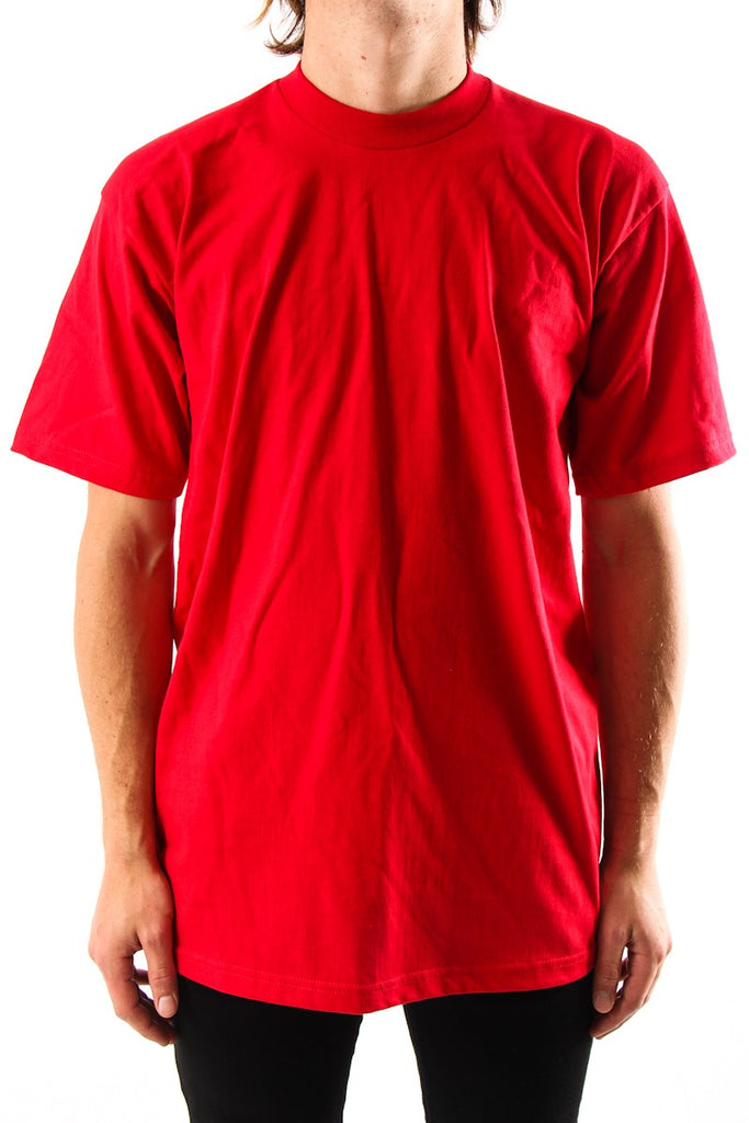 ProClub Tee Shirts , S/S Heavyweights   Talls  RED - THE M.F OLDSCHOOL STORE