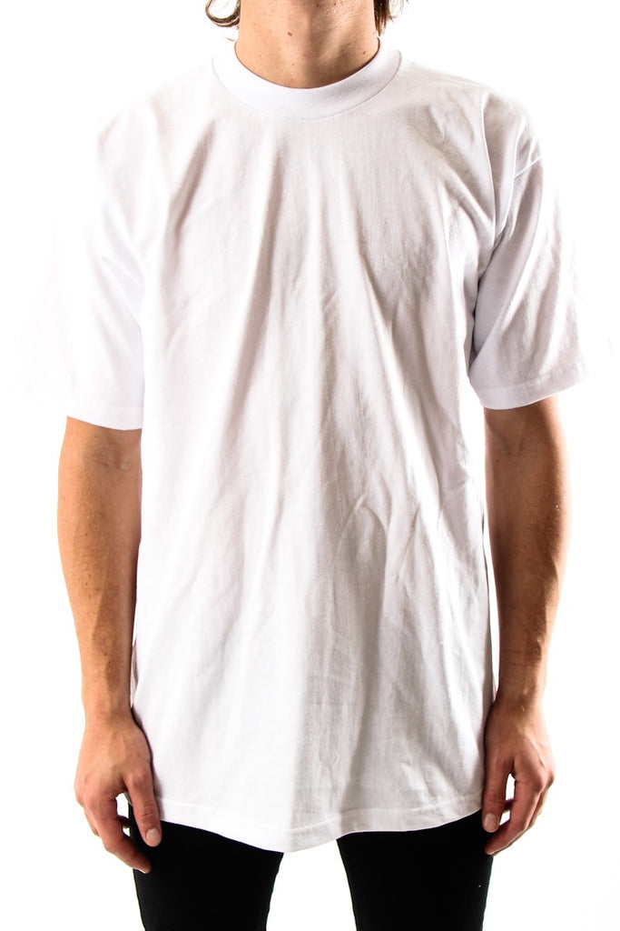 Pro Club Tee Shirts  S/S  Heavyweights Talls  WHITE - THE M.F OLDSCHOOL STORE