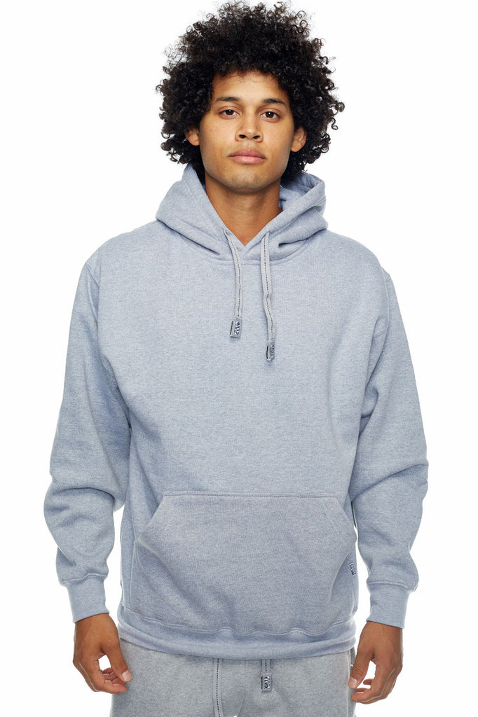 Pro- Club Heavyweight Hood, Talls Heather Grey - THE M.F OLDSCHOOL STORE
