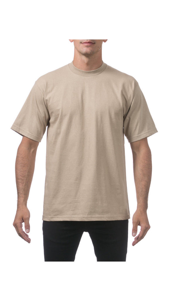 ProClub  Tee Shirts ,Heavyweights,    Talls  KHAKI - THE M.F OLDSCHOOL STORE