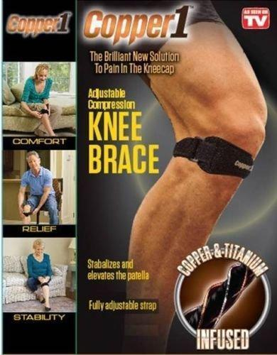 Copper1 Knee Compression Strap to Reduce Pain