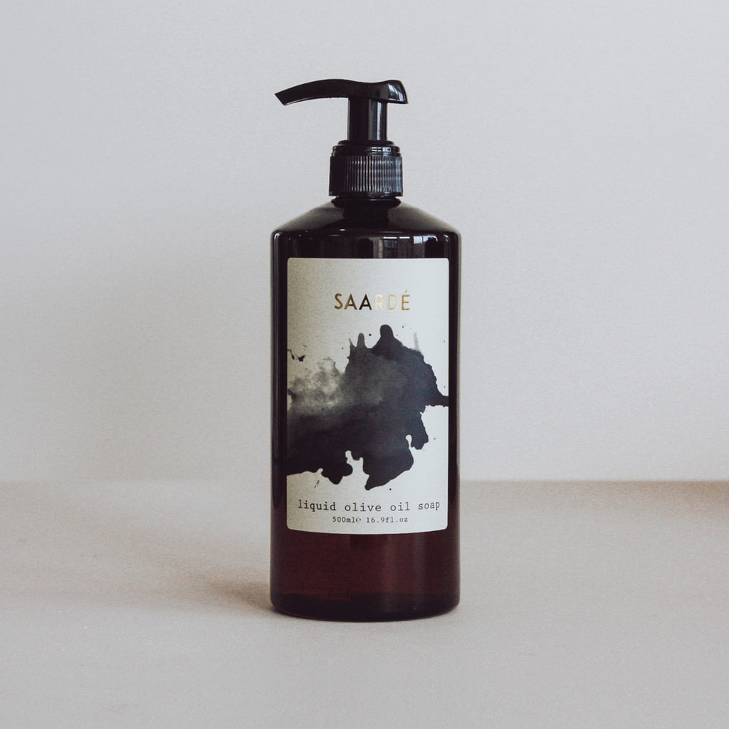 Saardé / NEW Liquid Olive Oil Soap