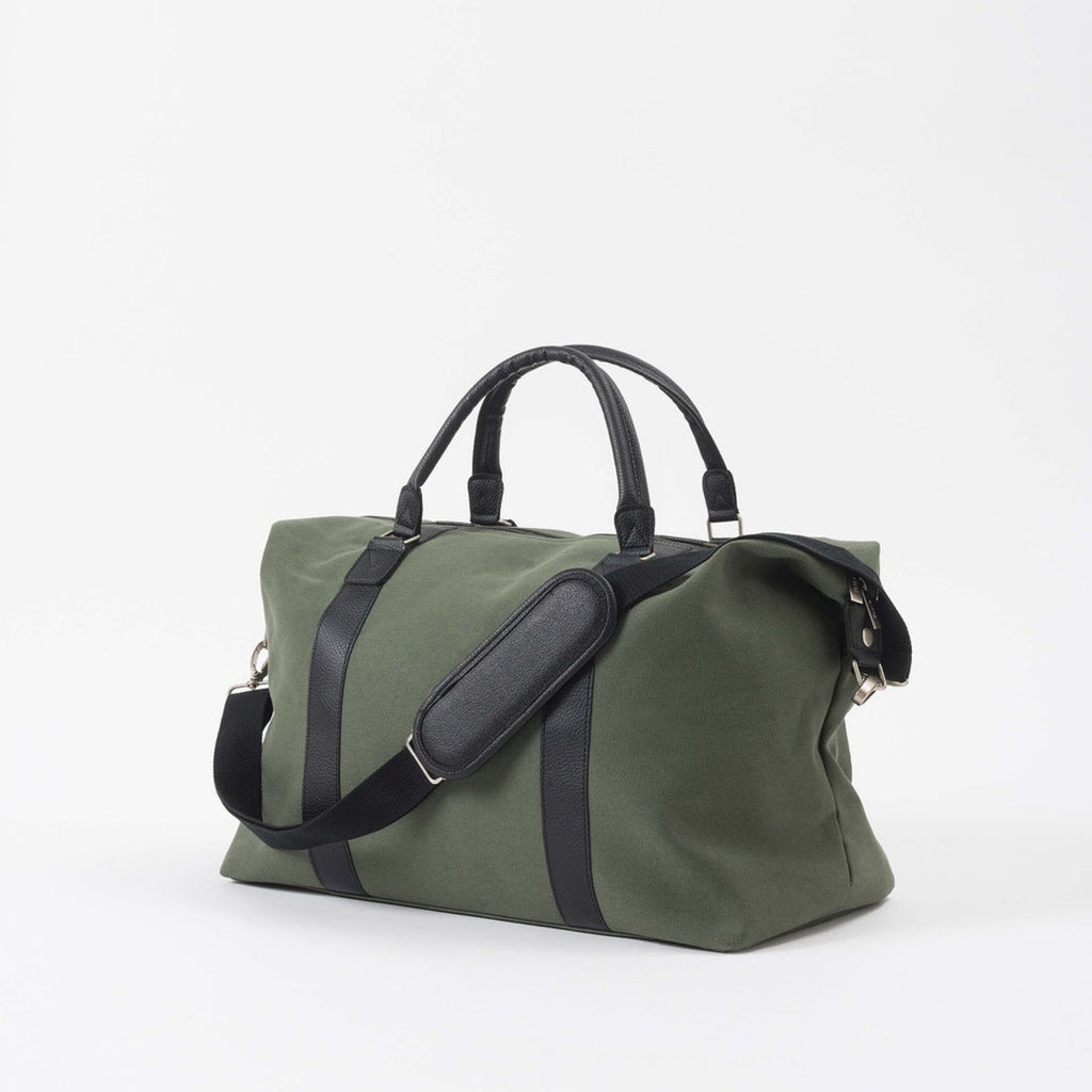 Canvas Weekender Bag / Olive