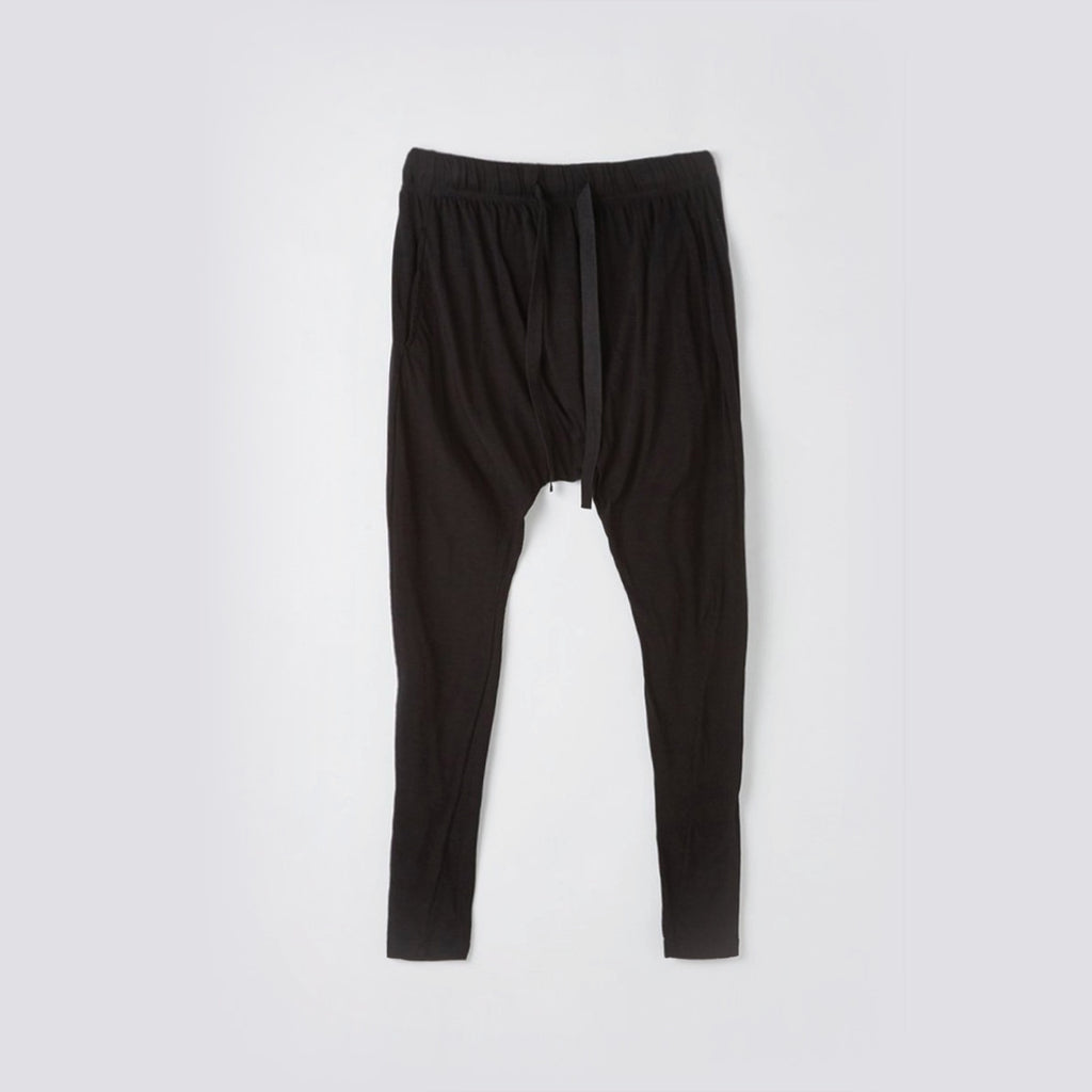 Bassike / Slouch Jersey Pant lll / Black