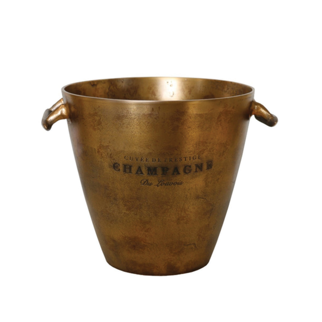 Champagne Bucket / Antique Brass
