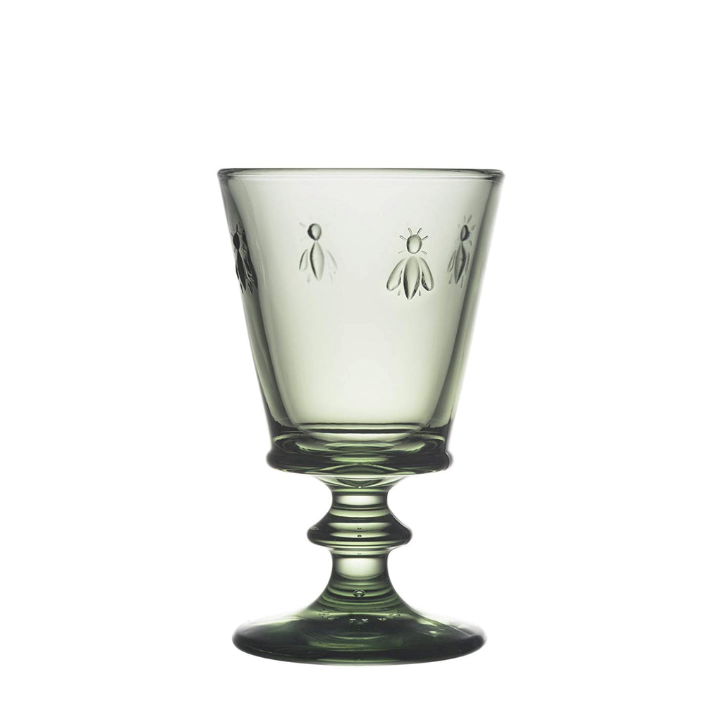 La Rochère / Bee Wine Glass / Green