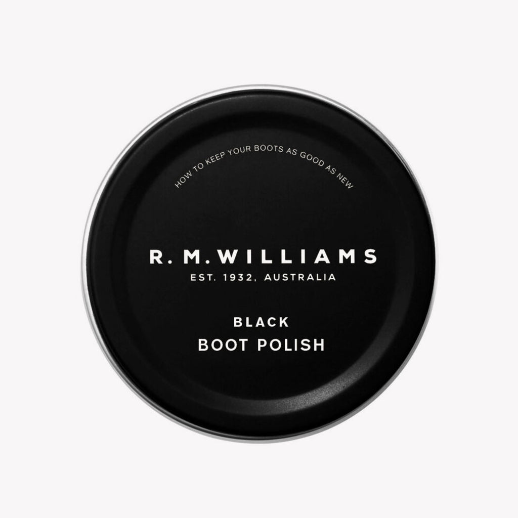 RM Williams / Leather Care / Boot Polish / Black