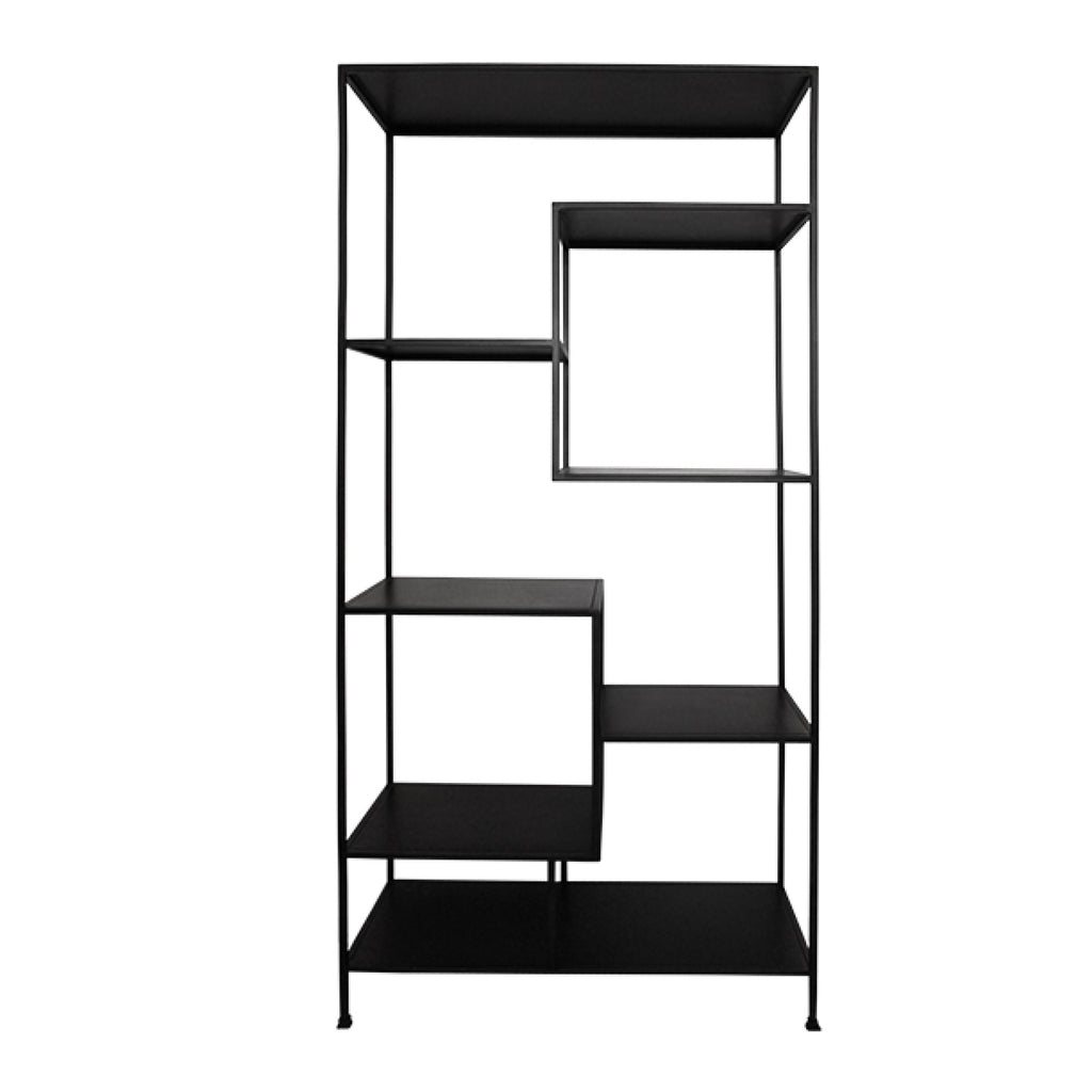 Staggered Shelving Unit