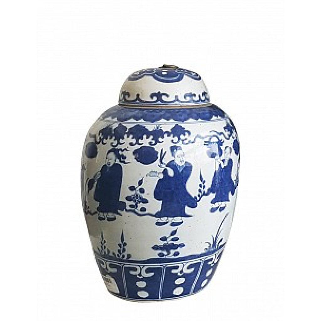 Ginger Jar / Dancing Figurine