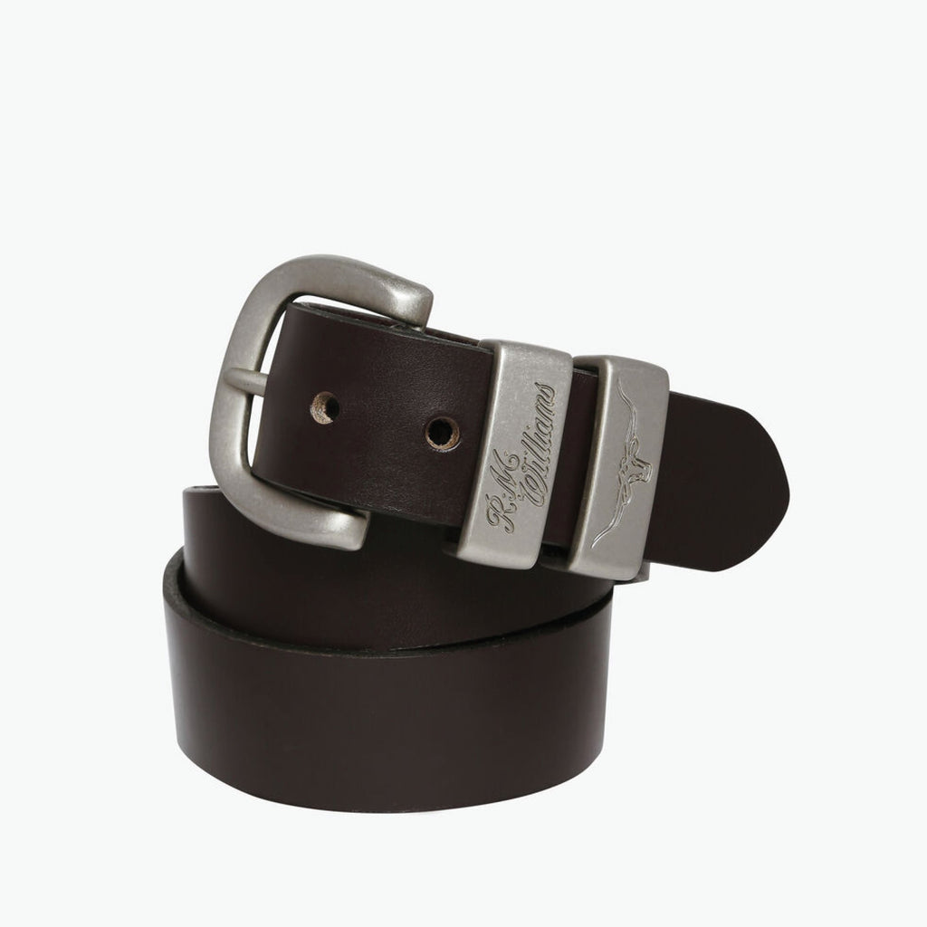 3 PIECE SOLID HIDE BELT by RM williams