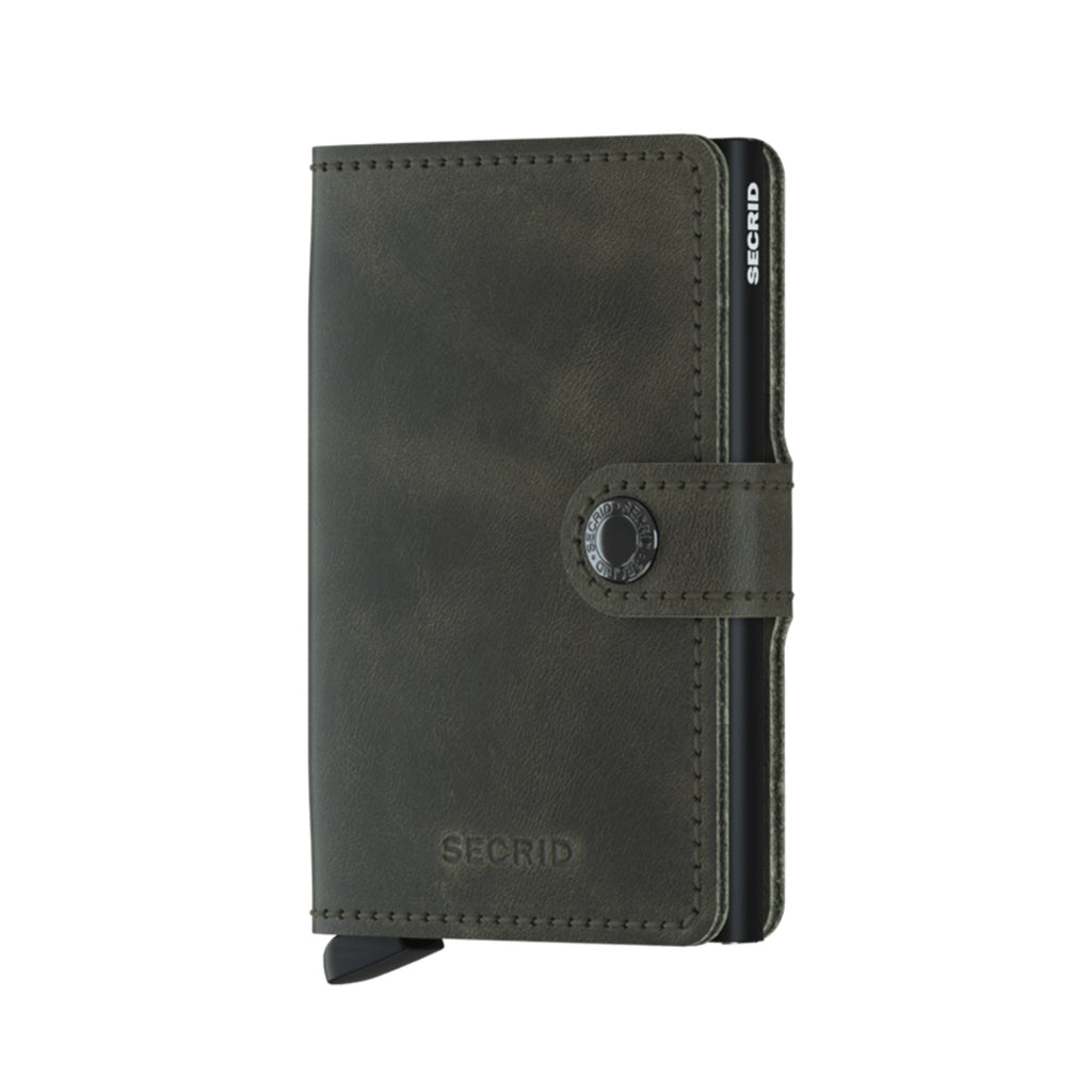 Secrid / Mini Wallet / Vintage Olive-Black