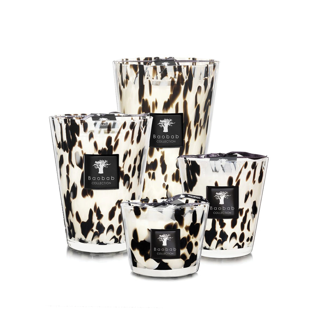 Baobab Candle / Black Pearls