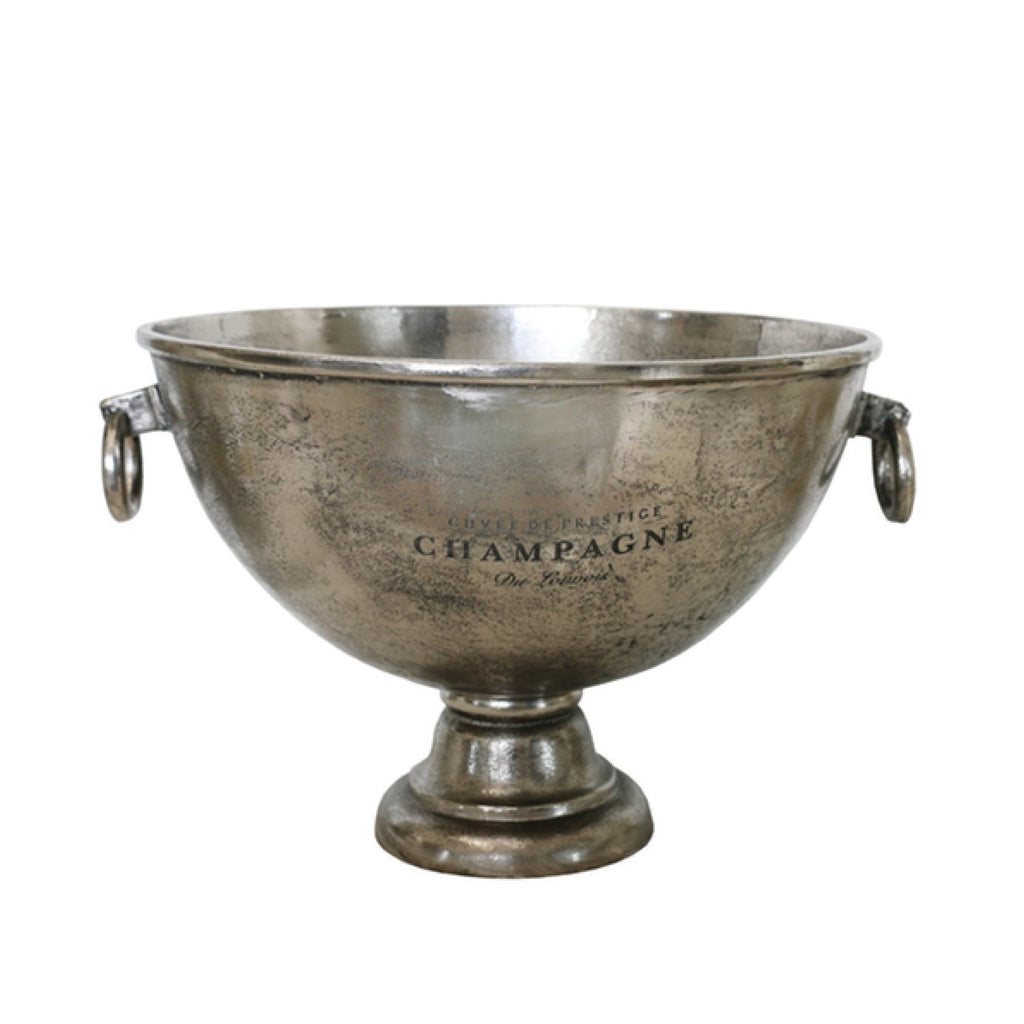 Champagne Bowl / Antique Nickel