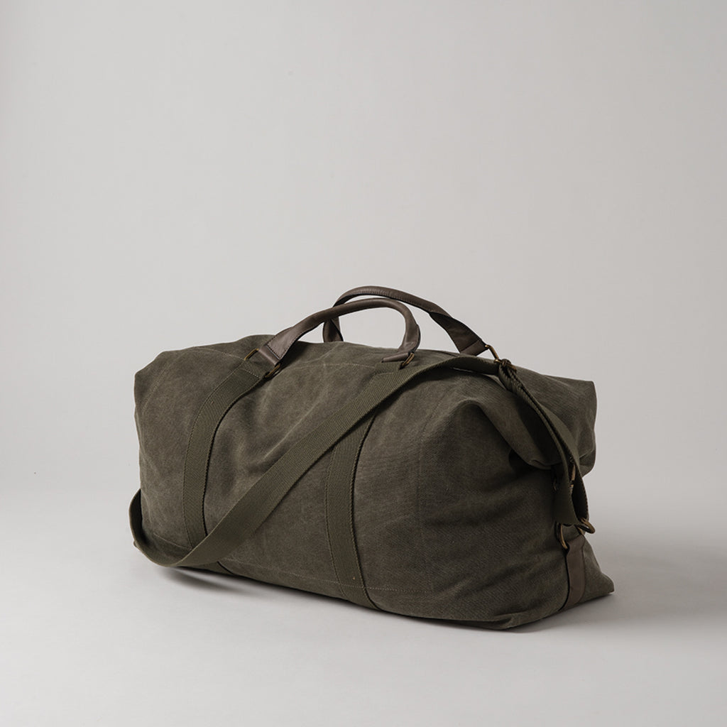 La Paz Waxed Canvas & Leather Weekender