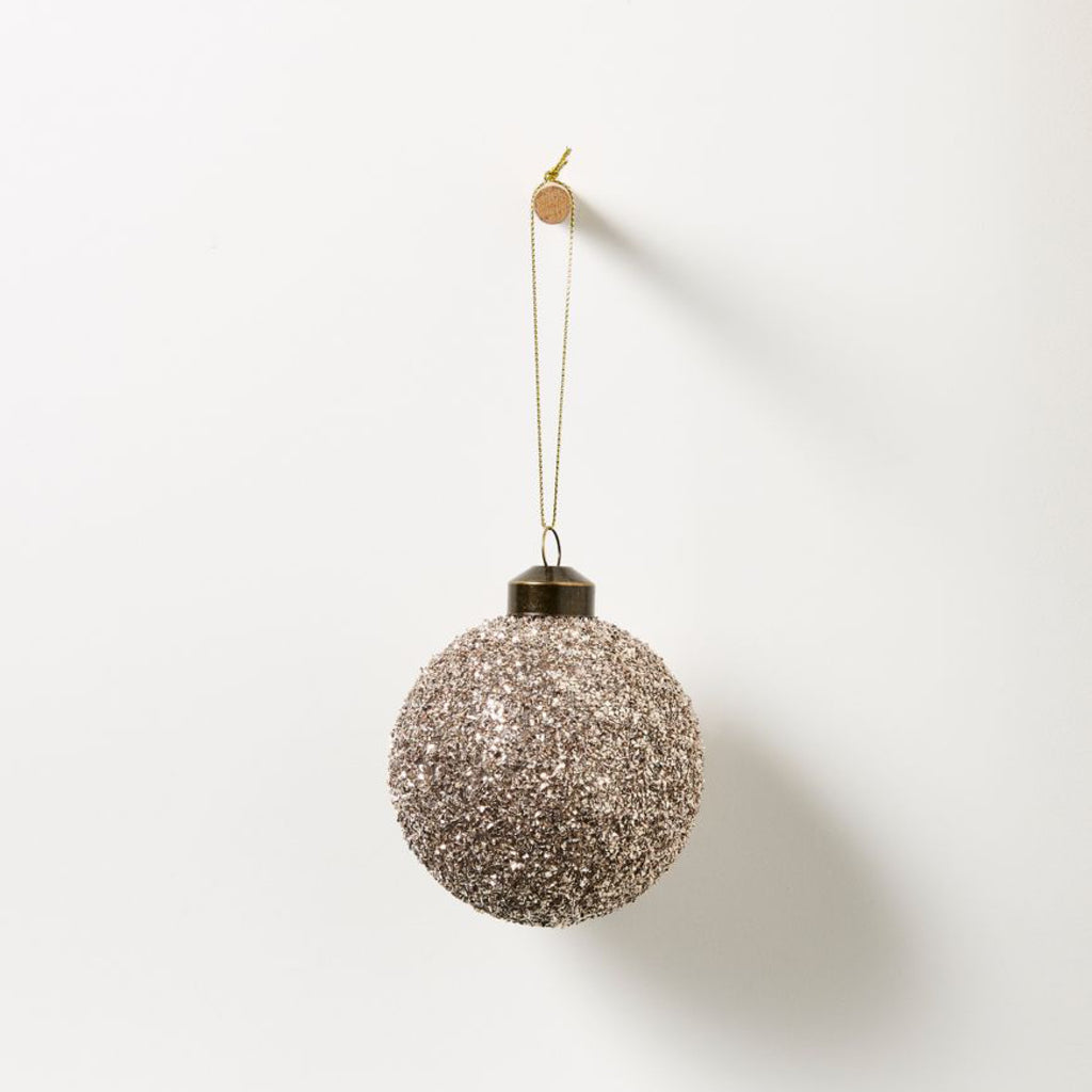 Bauble / Champagne Glitter