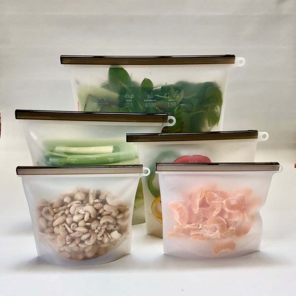 Reusable Silicone Food Bags