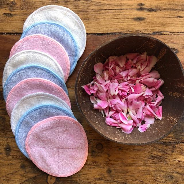 Reusable Bamboo Make Up Remover Pads