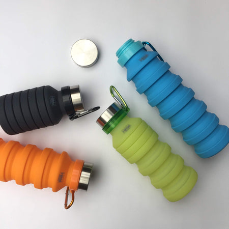 Silicone Expandable Drink Bottles Kitmaii