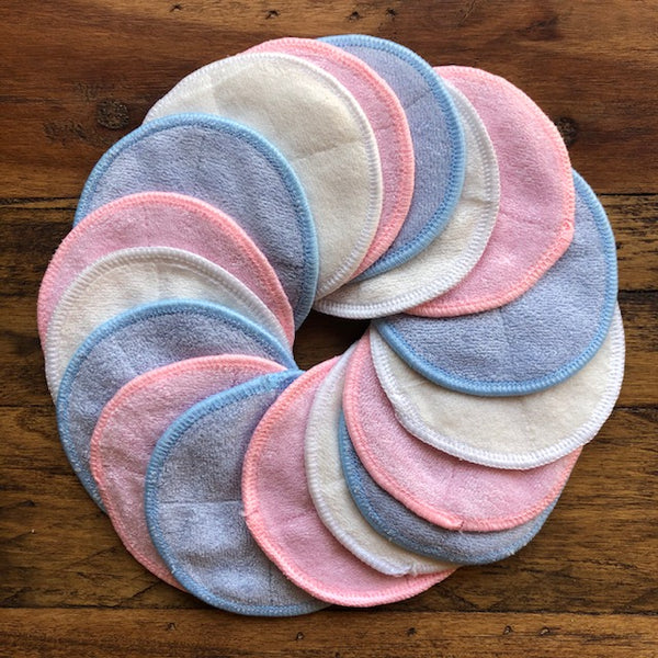 Reusable Make-Up Remover Pads Bamboo Cotton - KitMaii