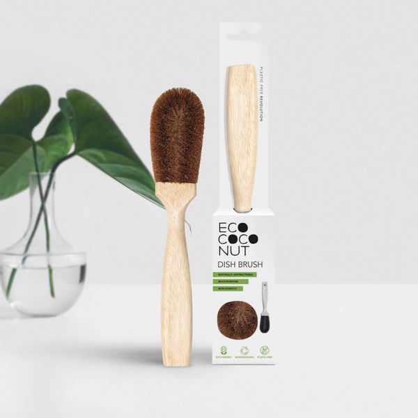 EcoCoconut Dish Brush - KitMaii