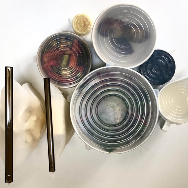 Food Storage Duo - Clear - KitMaii