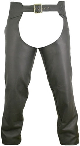 CLASSIC MOTORCYCLE LEATHER CHAPS