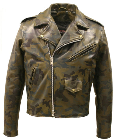 Camouflage Motorcycle Jacket