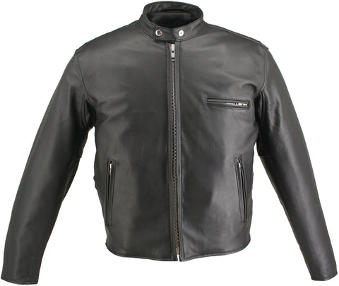 Horsehide Cafe Racer Jacket