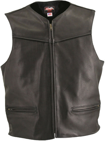 Zippered Racer Vest