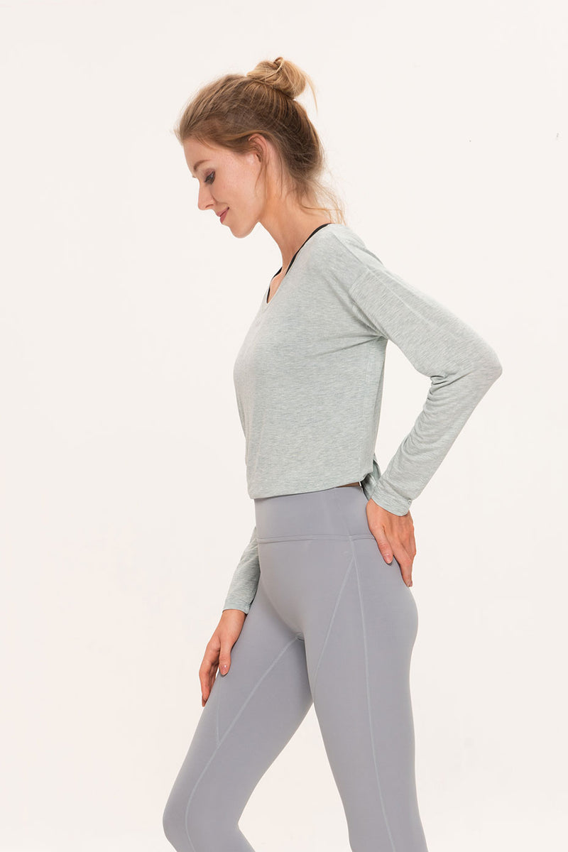 Alga Open Back Long Sleeve