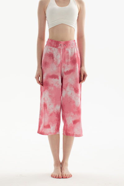 3/4 Morning Glow Wide Leg High-Rise Pant