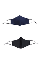 Load image into Gallery viewer, 3BULBS Reusable Face Mask in Navy Blue (Single/3 Filters)