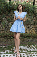 Load image into Gallery viewer, Renny Dress in Light Blue