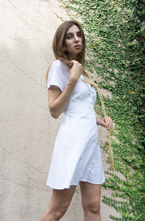 Sophia Dress in White