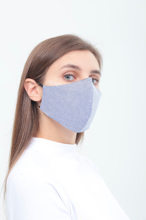 3BULBS Reusable Face Mask in Pack (Triple/10 Filters)