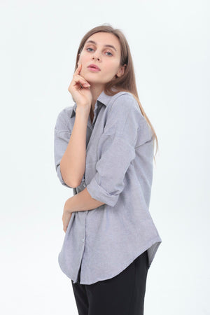 Sonia Top in Grey