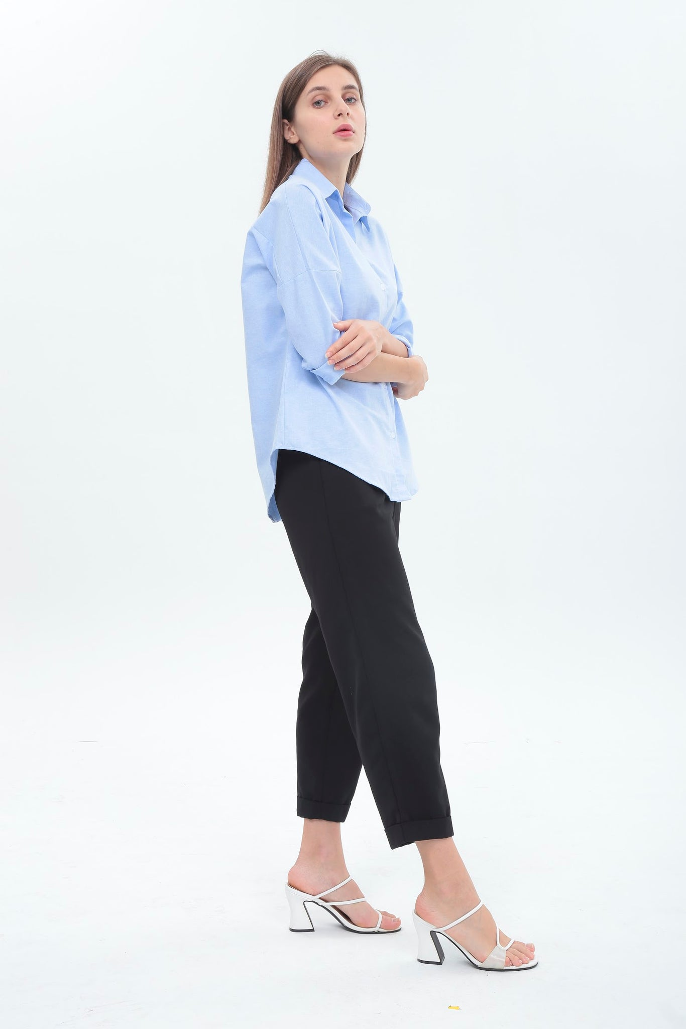 Sonia Top in Light Blue