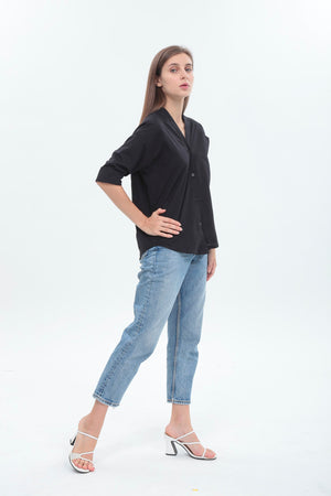 Amelia Top in Black