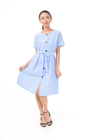 Cecy Dress in Light Blue