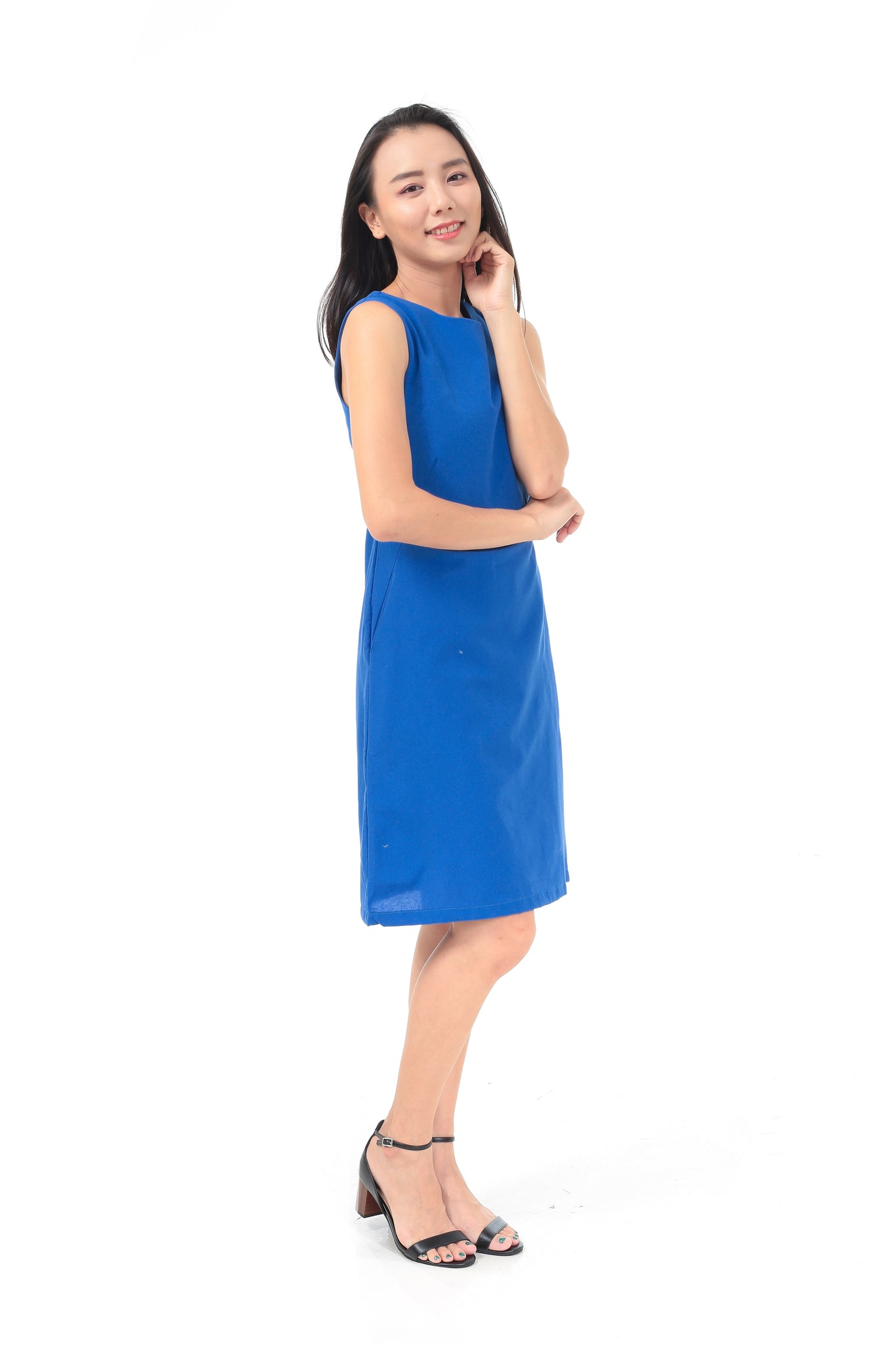Brenda Dress in Blue