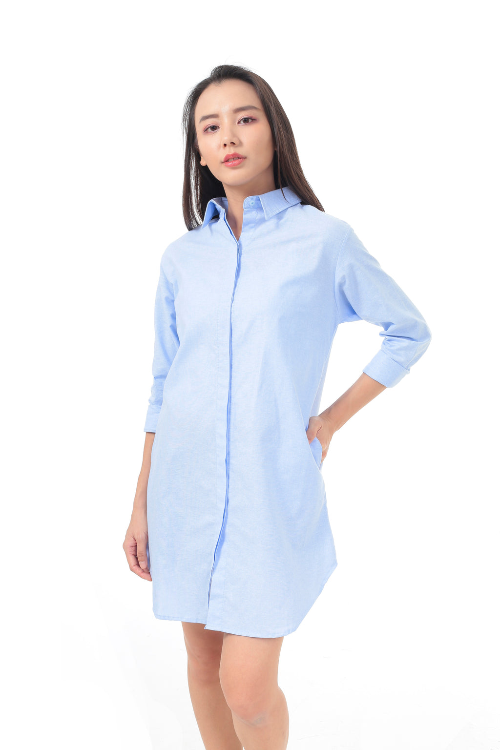 Casey Dress in Blue (Preorder)