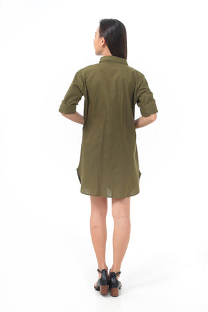 Kate Dress in Army Green