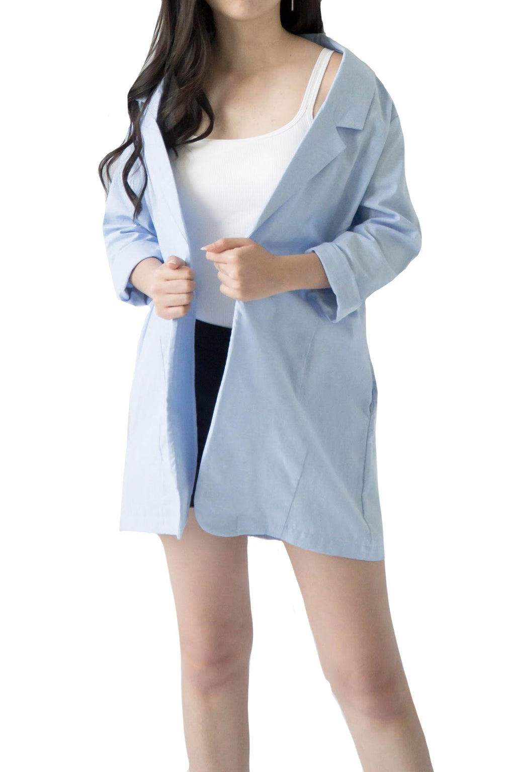 Alexis Blazer in Light Blue