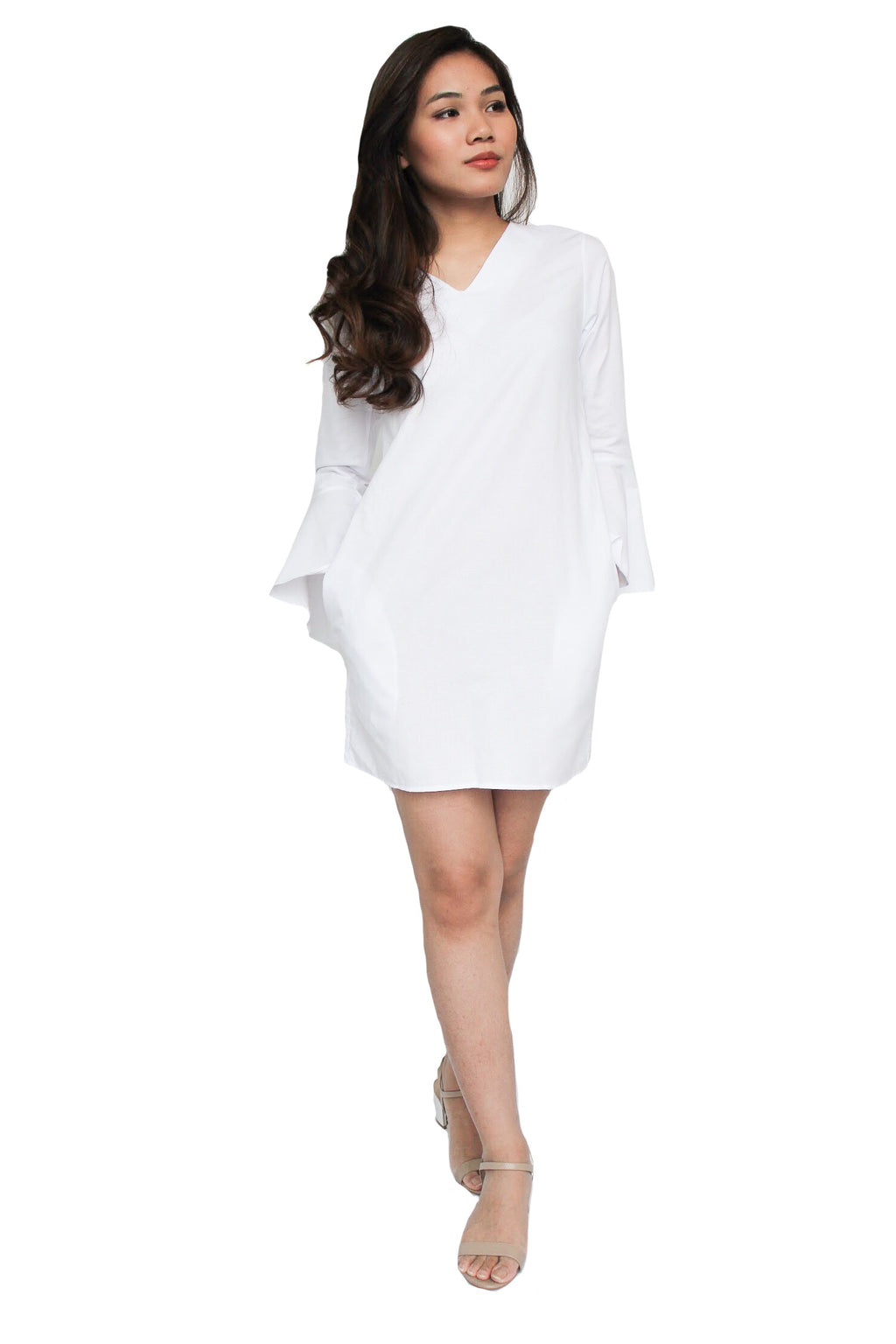 Rossy Dress in White